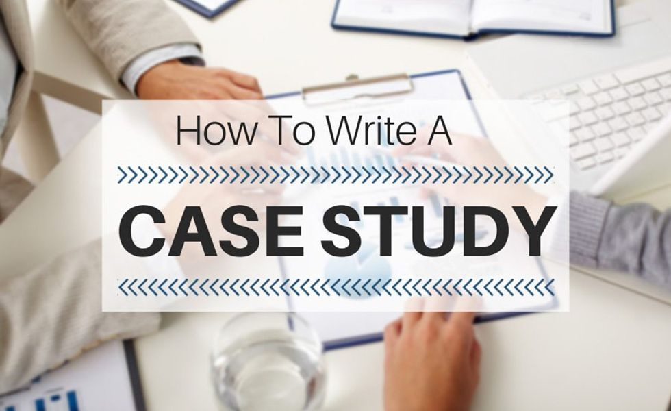 How to Write a Case Study | case study writing help