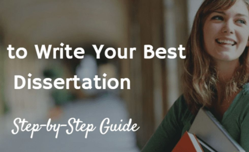 How to Write a Dissertation | Dissertation help