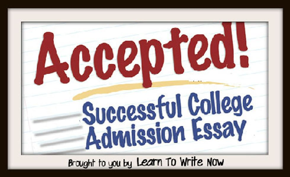 How to Write an Admission Essay | Admission essay help